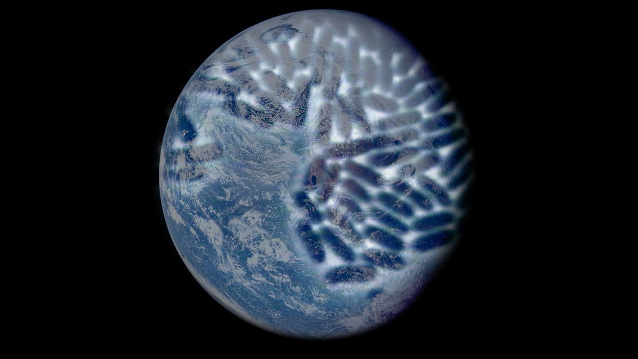 Symbiotic Earth image