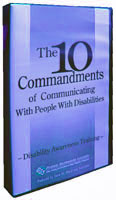 Ten Commandments of Communicating With People With Disabilities - image
