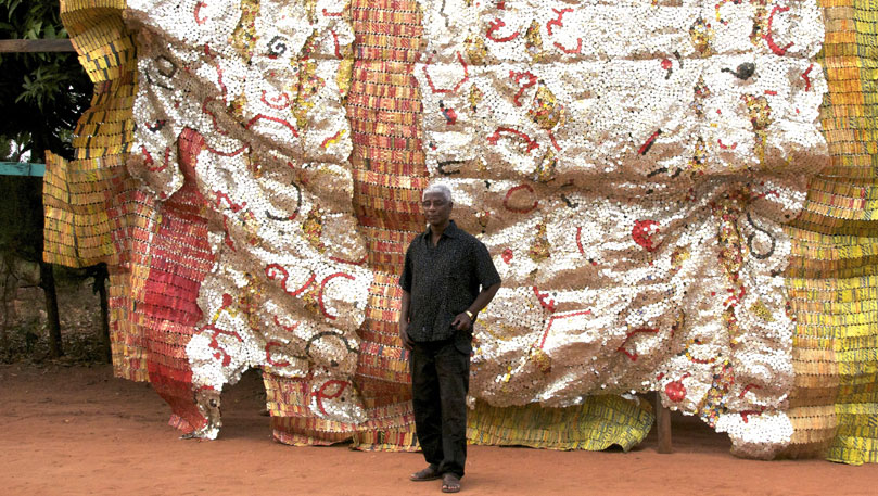 Anatsui at Work