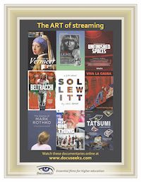 The Art of Streaming flyer