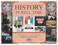 History in Reel Time flyer
