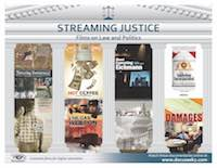 Streaming justice flyer