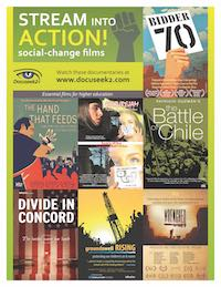 Films on Social Justice flyer