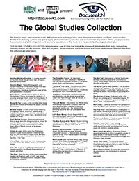 The Global Studies Collection flyer