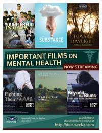 Films on Mental Health flyer
