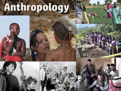 Anthropology postcard flyer