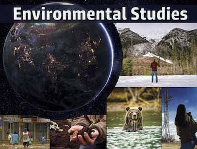 Environmental Studies postcard flyer