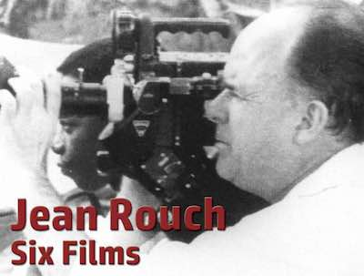 Jean Rouch: Six Films postcard flyer