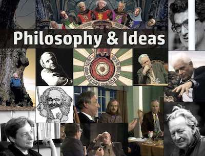 Philosophy and Ideas postcard flyer