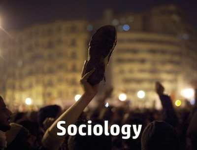 Sociology postcard flyer